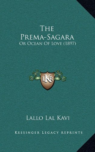 Download The Prema-Sagara: Or Ocean Of Love (1897) ebook