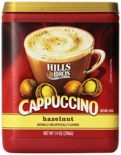 Hills Bros. Cappuccino Hazelnut 14 Ounce Instant Drink Mix (Pack of ()
