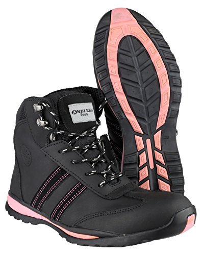 S1P Black Footsure 09 Boot Ladies wn0XttTzqO