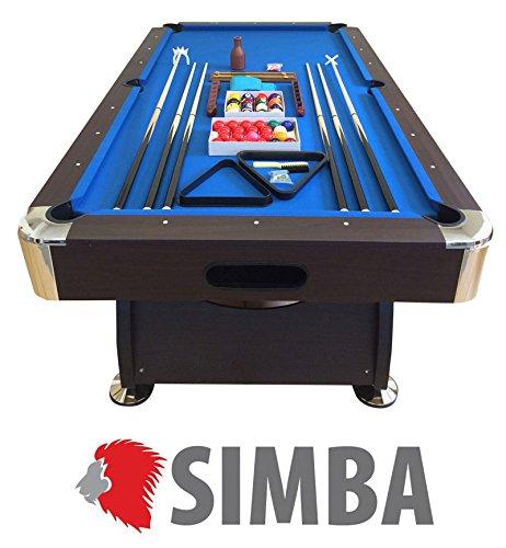 Tavolo da biliardo 8 piedi + accessori per carambola e snooker ...