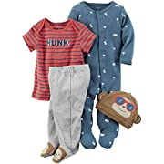 Carter's Baby Boys' Multi-Pc Sets 126g583, Red, 3 Months