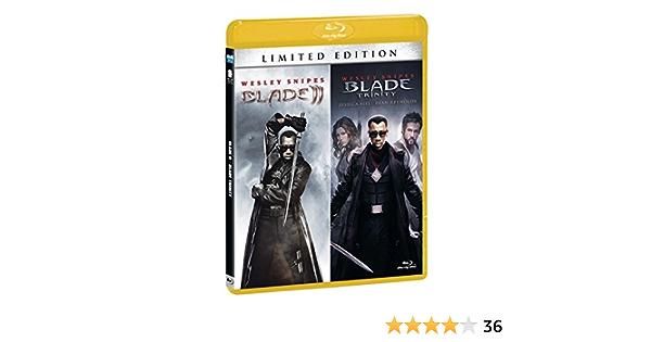 Blade 2 / Blade Trinity Ltd 2 Blu-Ray Italia Blu-ray: Amazon ...