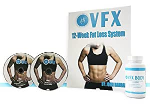VFX Body Weight Loss Supplement Bundle with VFX Body Weight Loss Exercise and Nutrition Program