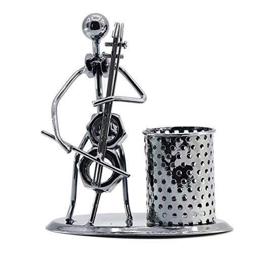 Pop Time Creative Cute Design Iron Penholder Home Decorations Ornaments Minimalist Modern Practical Small Gifts Crafts - Cello Gift