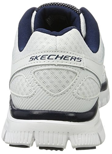 Skechers Herren Flex Advantage-Master Plan High-Top Weiß (Wnv)