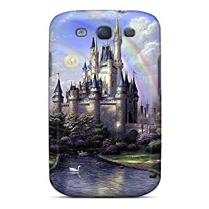 Top Quality Rugged The Castle In Art Case Cover For Galaxy S3