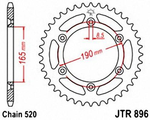 JT Sprockets JTR865.45 45T Steel Rear Sprocket