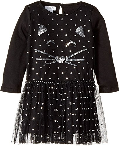 black cat face dress - 7