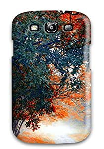 Hot Snap-on Autumn Hard Cover Case/ Protective Case For Galaxy S3