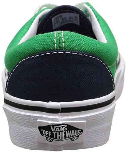 Vans Era - Zapatillas Unisex Niños Multicolor (2 Tone/dress Blues/kelly Green)