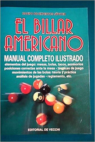 El billar americano: Amazon.es: Equipo De Expertos Jupiter: Libros