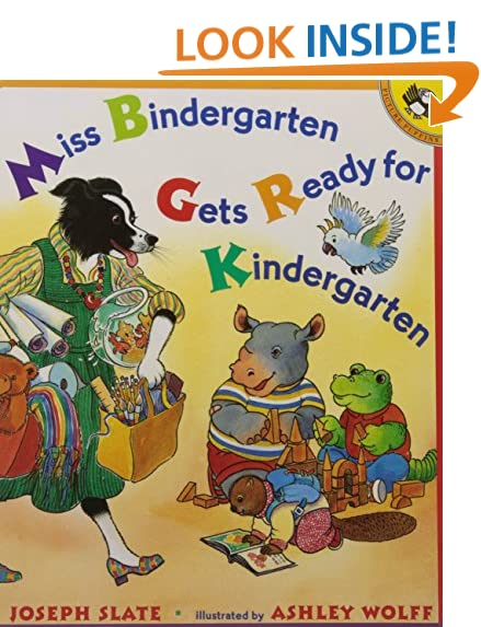Get ready for school for Miss bindergarten gets ready for kindergarten coloring pages