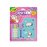 Crayola Scribble Scrubbie, Colour & Wash Rabbit & Hamster, Washable, Reusable, Collection, Gift for Boys and Girls, Kids, Ages 3,4, 5, 6 and Up, Holiday Toys,  Arts and Crafts