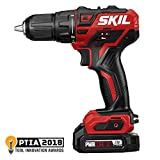 SKIL PWRCore 12 Brushless 12V 1/2 Inch Cordless Drill Driver, Includes 2.0Ah Lithium Battery and PWRJump Charger - DL529002