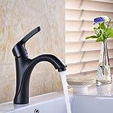 Rozin Oil Rubbed Bronze Single Lever Bathroom Sink Faucet Basin Mixer Tap