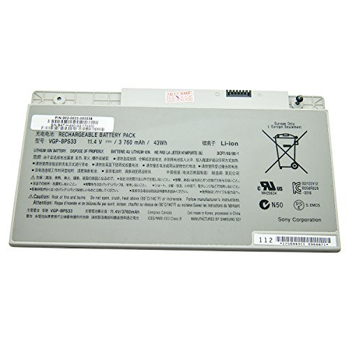 NO1seller Top Laptop Battery BPS33 (11.4V 3760MAH 43WH) for sale  Delivered anywhere in USA