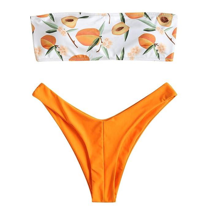 f962e3d66164 Bañadores Mujer Subfamily,Bikini para Mujer Conjunto de Trajes de ...