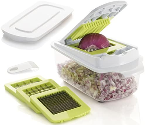 Brieftons QuickPush Food Chopper Keep Fresh