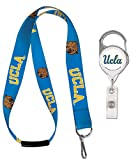 #3: Bundle 2 Items: UCLA Bruins 1 Lanyard With Breakaway Clasp and 1 Premium Badge Reel