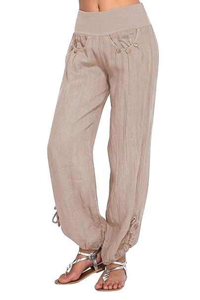 BienBien Pantaloni Tempo Libero Donna Pantalone Simpatici