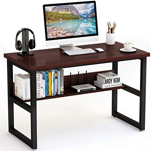 Computer Desk 47″ Modern Office Desk
