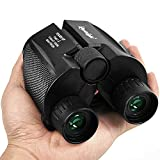 Binoculars for Adults Compact – 10×25 High Powered Lightweight Zoom Binocular for Kids Women Men Hunting,Travel,Birding, Concert,Waterproof Weak Light Night Vision For Sale