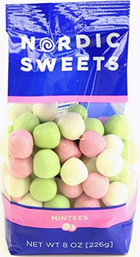 Nordic Sweets Mintees Candy 8-ounce Bag