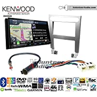 Volunteer Audio Kenwood Excelon DNX994S Double Din Radio Install Kit with GPS Navigation Apple CarPlay Android Auto Fits 2004-2006 Nissan Maxima (Without Bose)