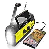 Emergency Flashlight Radio, 2021 Upgraded