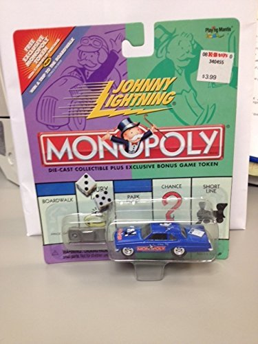 Johnny Lightning MONOPOLY PARK PLACE PONTIAC TEMPEST die cast car and bonus game token ()