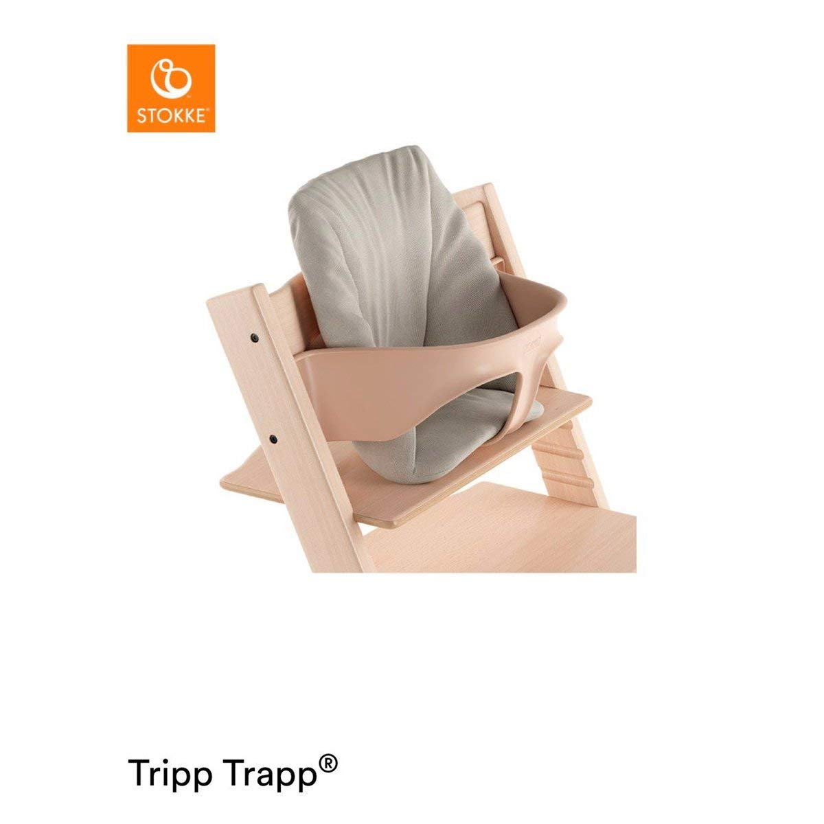 Hochstuhl-Kissen f/ür den Tripp Trapp Tripp Trapp Baby-Kissen Farbe: Sweet Hearts F/ür Babys von 6-18 Monaten
