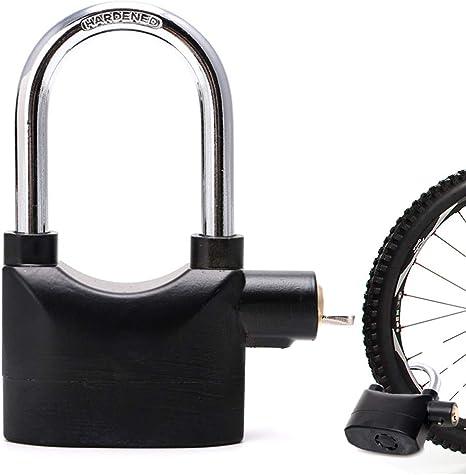 KuaiKeSport Candado Bicicleta Alta Seguridad,Candado Moto Bici ...