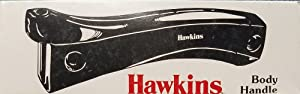 Hawkins Pressure Cooker Body Handle Set with PIVOT, Stud and Screws (without PIVOT)