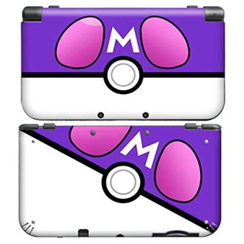 POKEBALL MASTER BALL for New Nintendo 3DS XL Skin Vinyl Decal Stickers (Difference Between Ultra Sun And Ultra Moon)