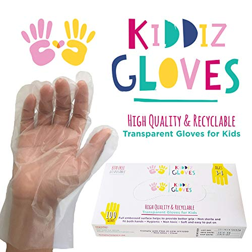Kiddiz Gloves Eco friendly Disposable count