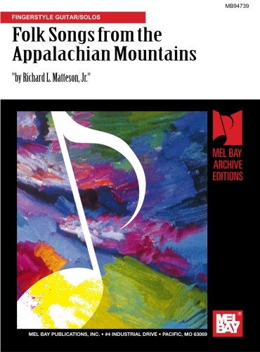 Folk Songs from the Appalachian Mountains for Acoustic for sale  Delivered anywhere in Canada