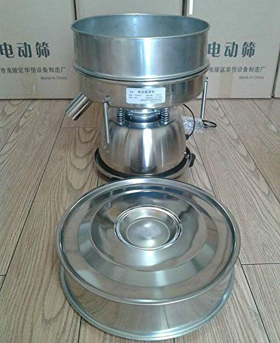 TOPCHANCES Professional Round Stainless Steel Flour Sieve for Food Industrial Stainless Steel Automatic Vibrating Sieve Machine (Sieve Shaker Machine without Mesh, without Mesh) by TOPCHANCES (Image #2)