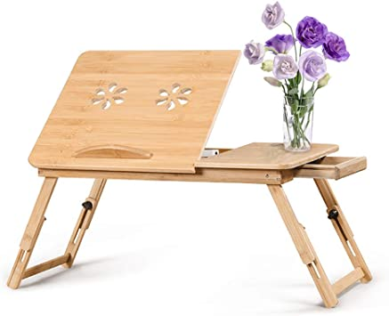 Cozihoma Mesa de Cama para Portátil Laptop Mesa Plegable de ...