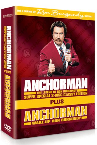 Anchorman Special Edition & Wake Up Ron Burgundy Set Reino ...
