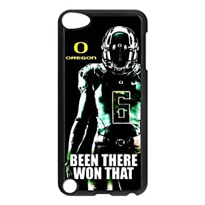 DIY Design Dream 20 Sports NCAA Oregon Ducks Footballl Print Black Case With Hard Shell Cover for iPod Touch 5th-Just DO It