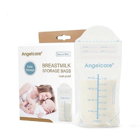 Angelcare fácil bolsas de congelación leche materna bolsas ...