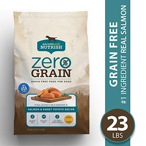 Rachael Ray Nutrish Zero Grain, Salmon & Sweet Potato Recipe Dry Dog Food, 23 Pounds, Grain Free