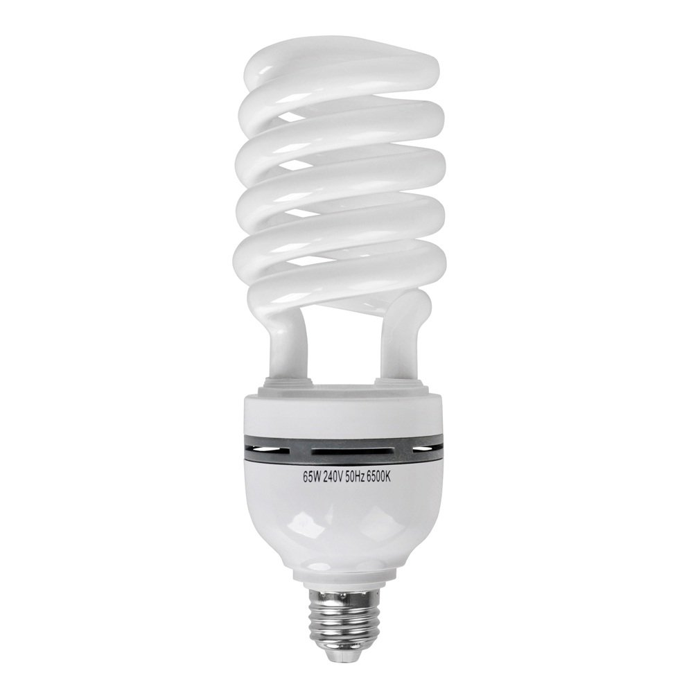 MiniSun 65w ES E27 Energy Saving Daylight CFL Spiral Bulb: Amazon ...