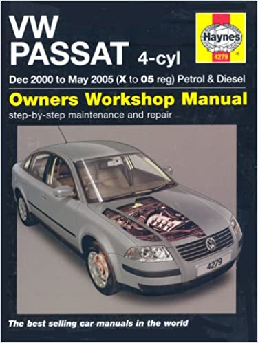 Vw passat 4 cyl petrol and diesel service and repair manual 2000 vw passat 4 cyl petrol and diesel service and repair manual 2000 2005 service repair manuals a k legg 9781844252794 amazon books fandeluxe Images