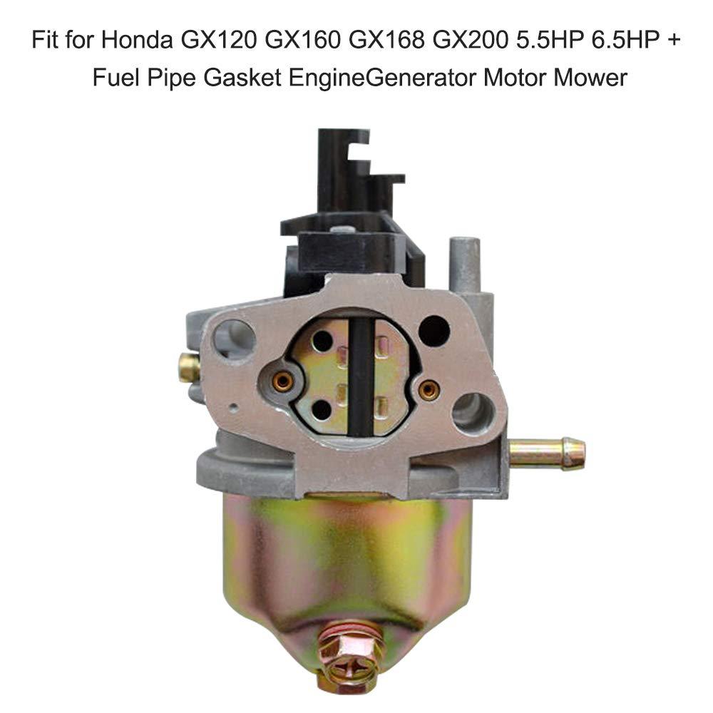 Leslaur Carburador Apto para Honda GX120 GX160 GX168 GX200 5.5HP ...