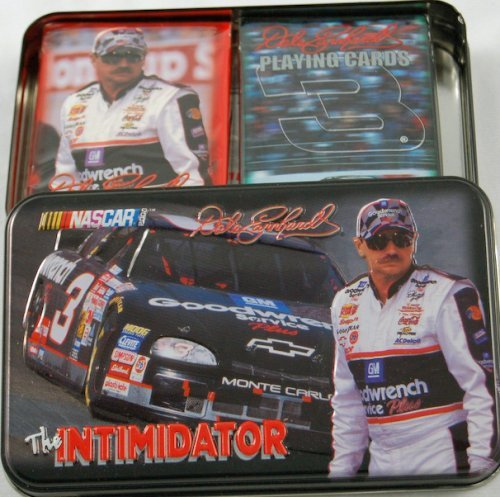 Dale Earnhardt Playing Cards, Limited Numbered Edition Collectible Tin, the Imtimidator #3
