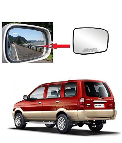 Carsaaz Right Side Sub Mirror Plate For Chevrolet Tavera Amazonin