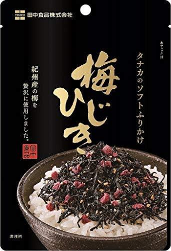 田中食品 ソフトふりかけ梅ひじき30gまとめ買い(×10)
