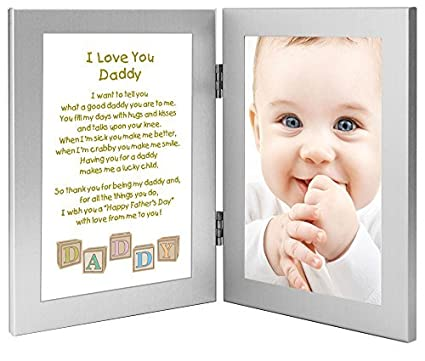 Amazon.com - Daddy Father\'s Day Frame - Gift for Daddy From Son or ...