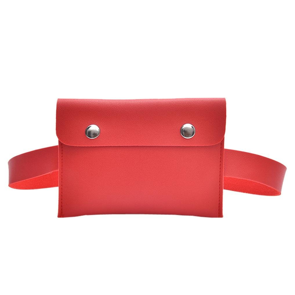 Womens Handbags Ladies Purses Satchel Fashion Solid Color Shoulder Bags Crossbody Bags Small Tote Bag Cell Phone Bags (Red)
